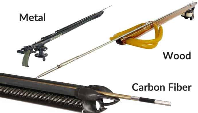Speargun Shaft Material