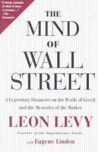 Cover The Mind of Wall Street by Leon Levy