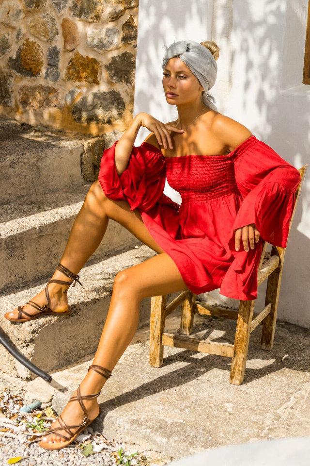 Top fashion model and Malin Svensson