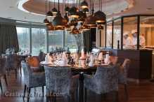 AMA rhine river cruise dining area