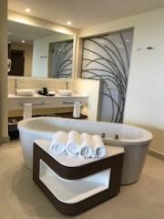 bath tub at Grand Lido Negril