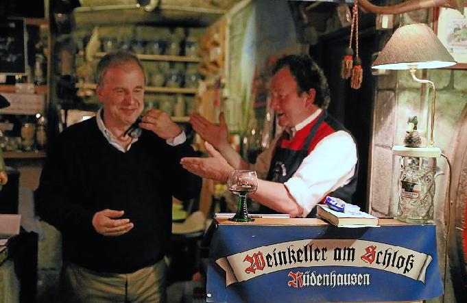 Hubertus Meyer-Burckhardt und Karl Graf zu Castell-Rüdenhausen