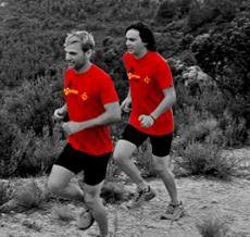 Berta Moreno i Josep Barrufet vencedors de la Cursa llarga de la transenyera