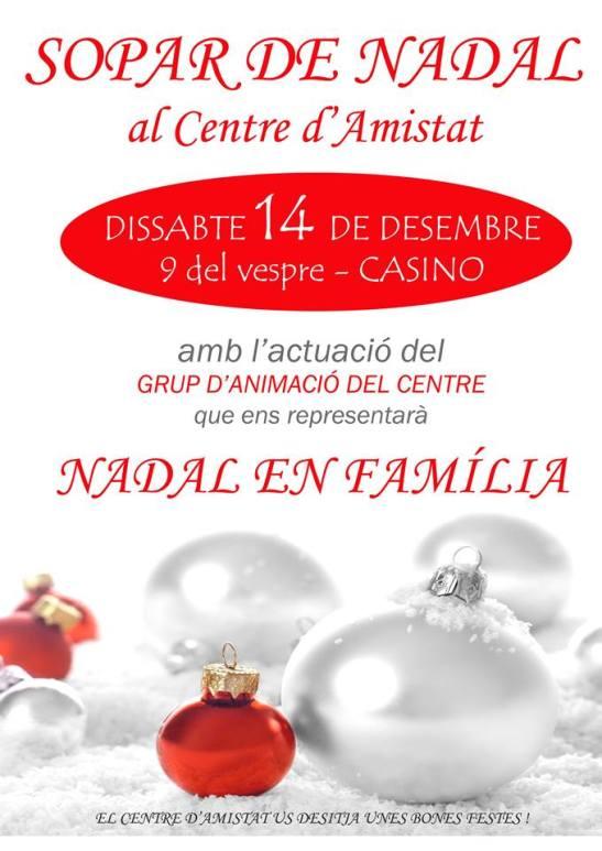 Cartell Sopar Nadal 2013
