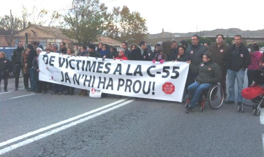 Demà dissabte a la tarda, concentració a la c-55a Sant Vicenç de Castellet