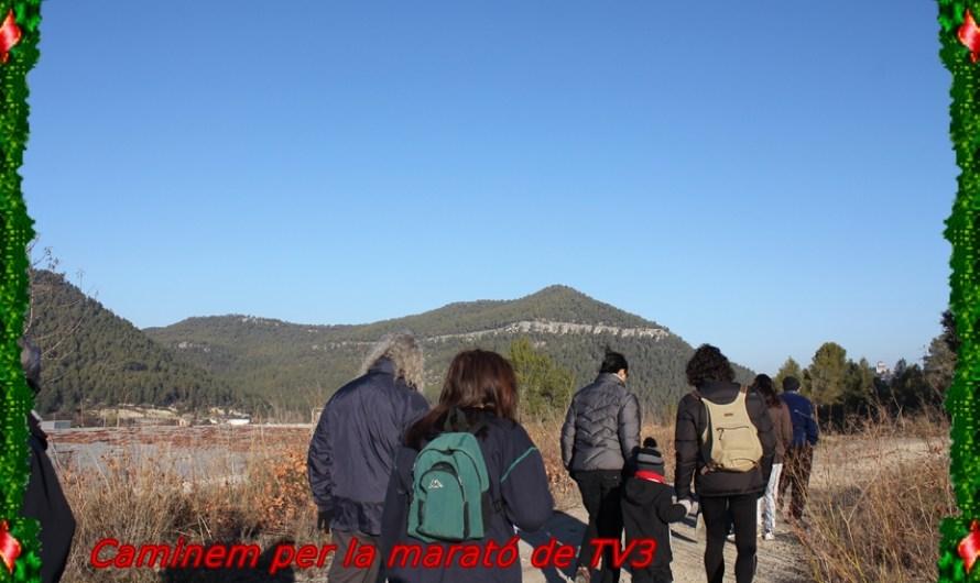 Castellbell camina per la marató de TV3