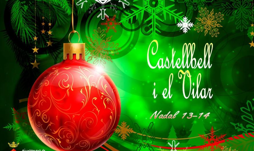 Programació festes de nadal a Castellbell i el Vilar 2013-2014