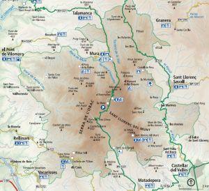 Parc Natural Serra de l´obacSant Llorenç
