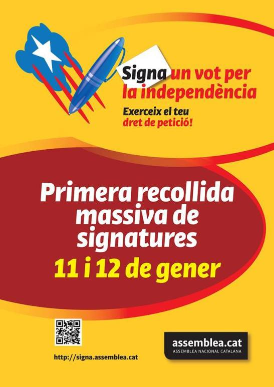 Signa un Vot  Cartell