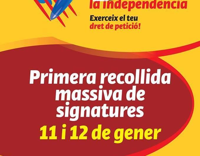 Castellbell i el Vilar tambe signa per la Indepèndecia de Catalunya