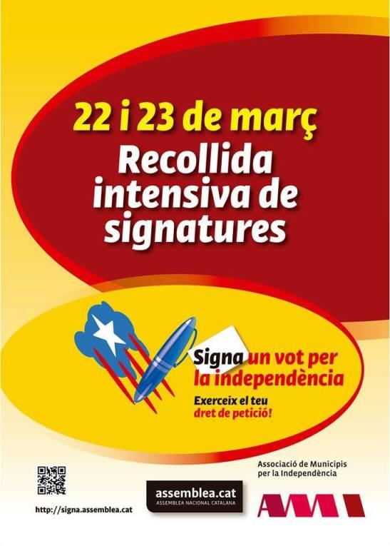 Signa Un vot per la independencia
