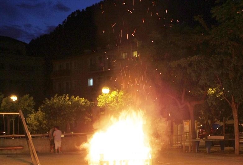 Castellbell i el Vilar viu una revetlla de Sant Joan molt tranquil·la