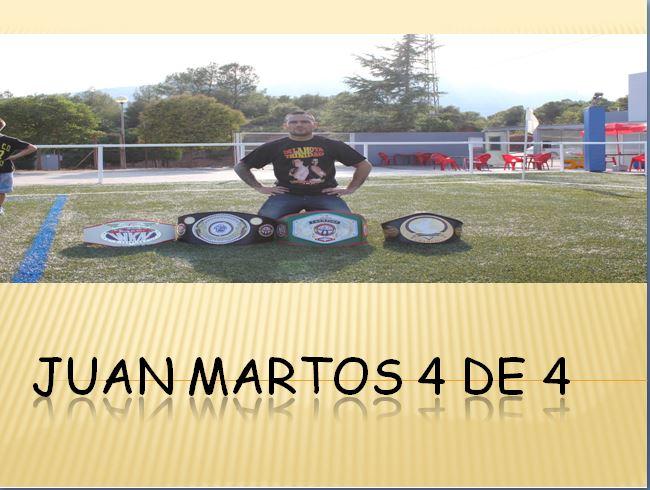 Juan Martos, 4 de 4