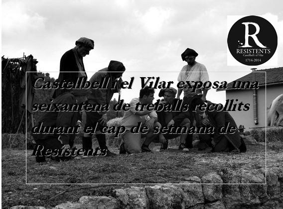 Castellbell i el Vilar exposarà durant una setmana fotografies dels Resistents 2014