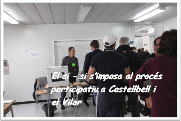 El Si-Si, s'imposa al procés participatiu a Castellbell i el Vilar.