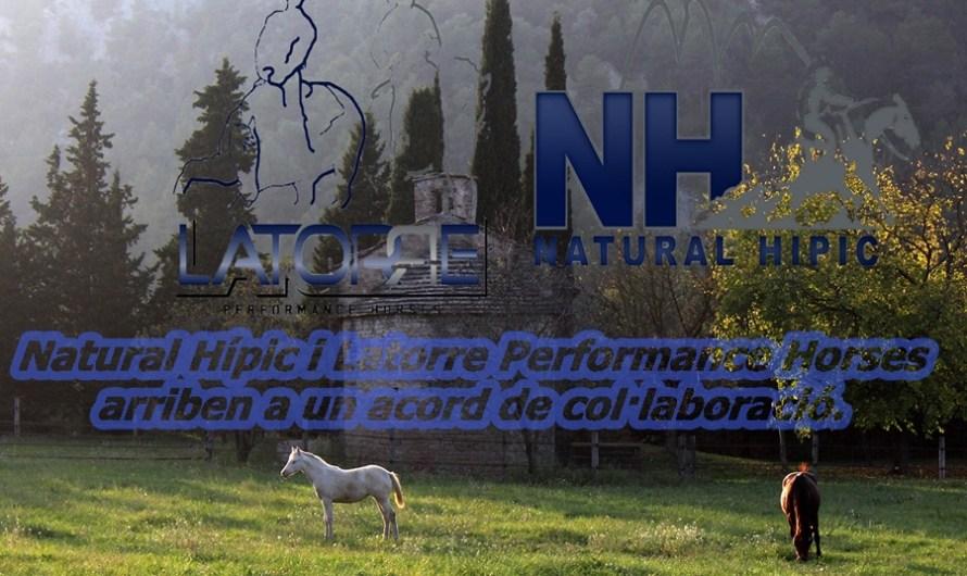 Natural Hípic i Latorre Performance Horses arriben a un acord de col·laboració.
