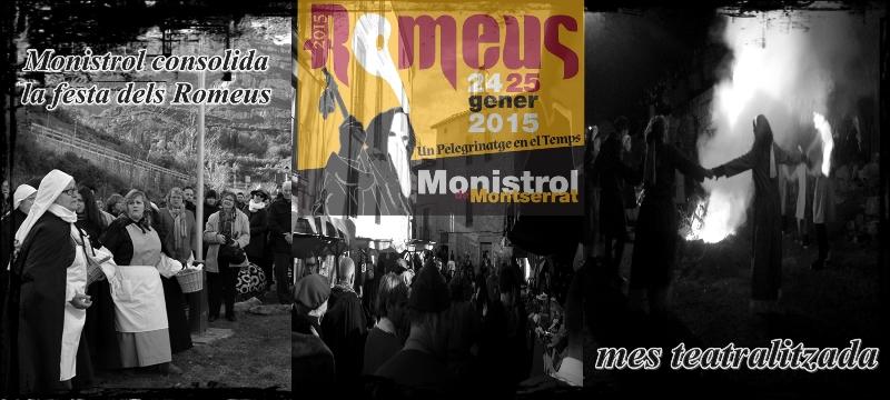 Monistrol consolida la festa dels Romeus més teatralitzada
