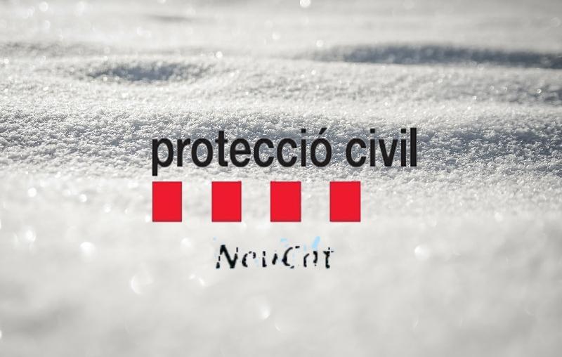 Protecció Civil manté activat el pla neucat per possibles nevades aquesta matinada i dema al matí