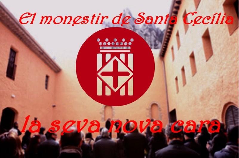 El monestir de Santa Cecília de Montserrat  presenta la seva nova cara