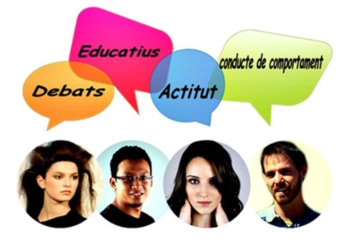 Els debats educatius : debat sobre actitud o conducte de comportament