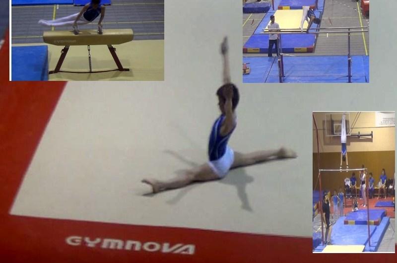 Impressionant actuació del nostre gimnasta JORDI MARCH