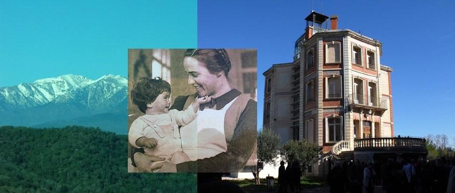 Castellbell  i el Vilar visita el camp de concentració d'Argelers i la maternitat d'Elna amb motiu del dia internacional de la dona treballadora