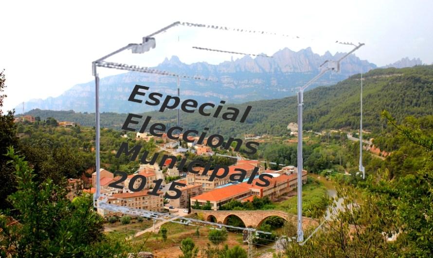 L´alcaldable Montserrat Badia, presenta la seva candidatura del PSC de Castellbell i el Vilar, en un dinar de germanor davant de la seva militància .