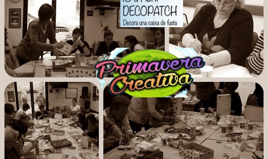 Una vintena de persones participen al primer taller de la Primavera creativa, a Castellbell i el Vilar.