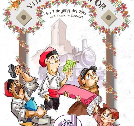 """Sant Vicenç de Castellet celebrarà aquest cap de setmana """" la fira del vapor """" amb una aposta amb més ambientació al carrer"""