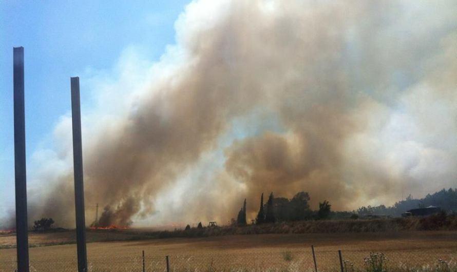 Incendi Agrícola a Sant Fruitós de Bages 