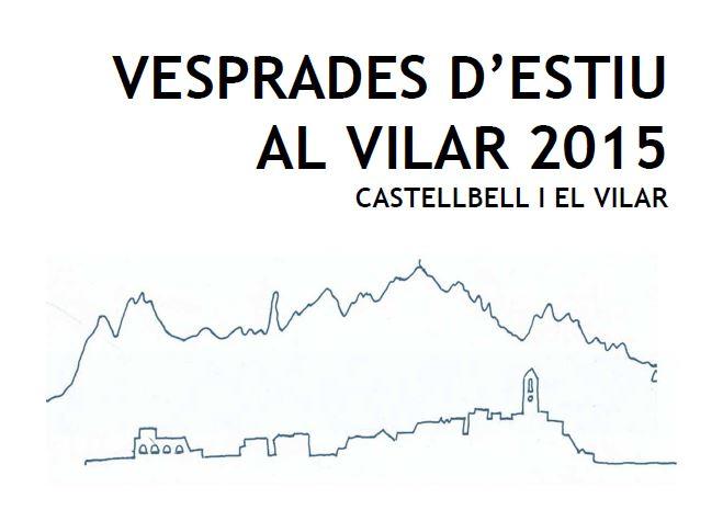 Aquest divendres tornen les Vesprades d´estiu, al Vilar.