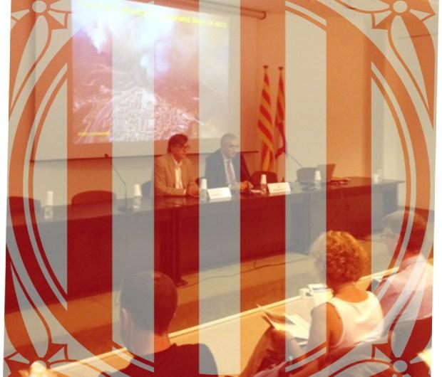 """El director d'Interior a la Catalunya Central, Eduard Freixedes: """"La col.laboració del territori és fonamental per impedir un gran incendi"""""""
