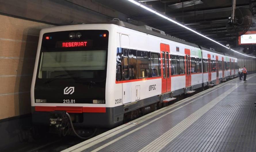 El conseller Vila presenta la renovació dels trens de la línia Llobregat-Anoia d'FGC