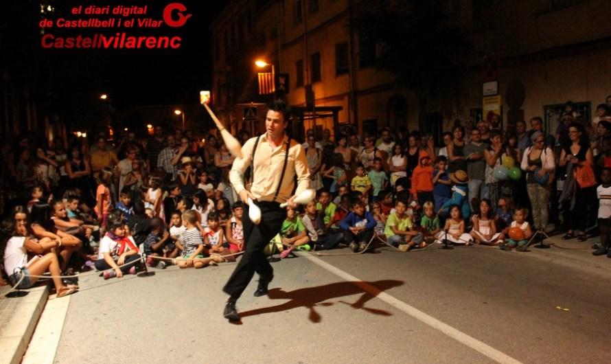 Els veterans de futbol i el Futbol Sala Castellbell fan el pregó de Festa Major .