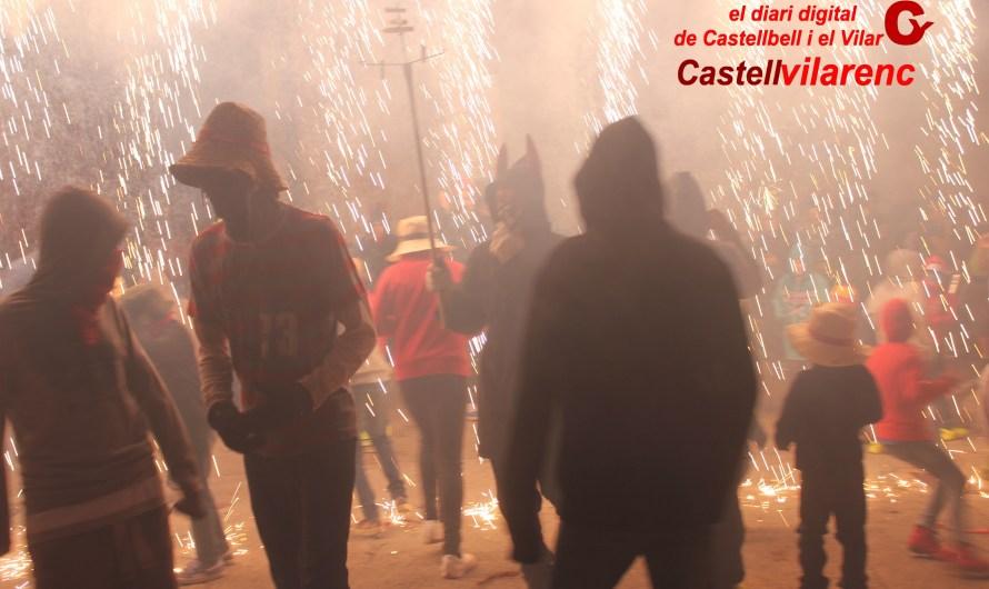 Lluit Correfoc a Castellbell i el Vilar.
