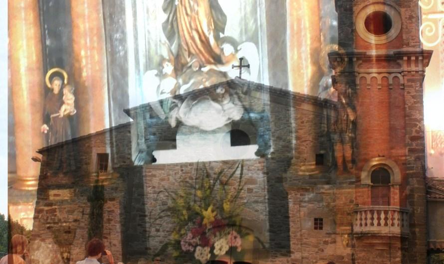 Castellbell i el Vilar celebra el dia de la seva patrona, amb la tradicional missa al Vilar .