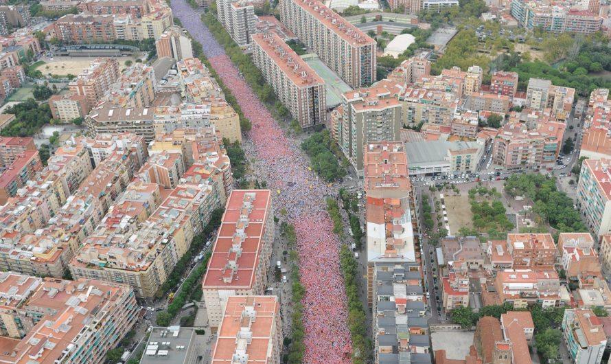 Castellbell i el Vilar, present a la històrica Via Lliure Catalana que ha movilitzat més de dos milions de catalans.