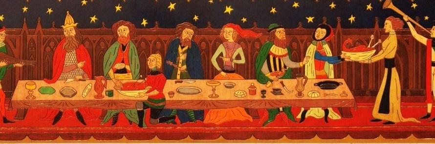 La festa dels Romeus de Monistrol , escalfa motors amb un sopar-castanyada