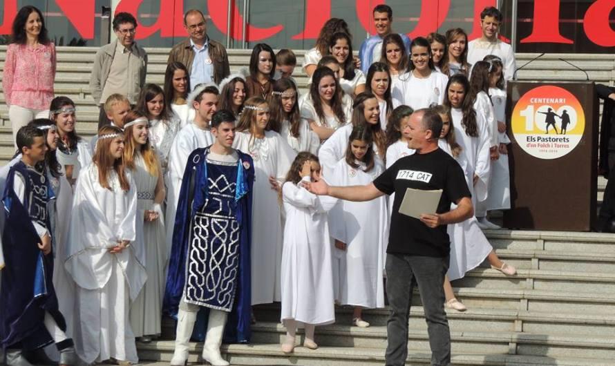 Tret de sortida del centenari dels Pastorets de Josep Maria Folch i Torres a tot Catalunya