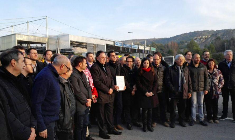 El Consorci Viari i el Consell Comarcal exigeixen que funcioni el protocol d'aixecament de barreres en cas d'incidències a les carreteres C-55 i C-58