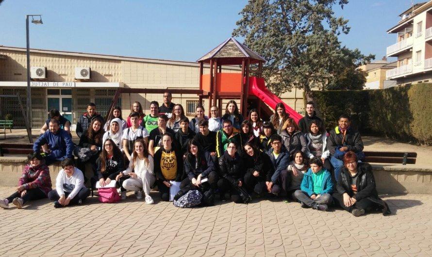 Alumnes dels Instituts de secundària del Bages Sud i joves d'AMPANS comparteixen per tercer any consecutiu el projecte Dos Rius