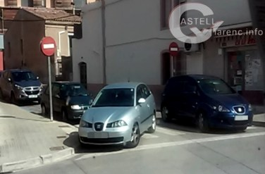 Vehicle mal aparcat