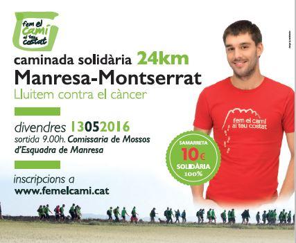 Els mossos d´esquadra organitzaran el 13 de maig la tradicional caminada solidària contra el cancer
