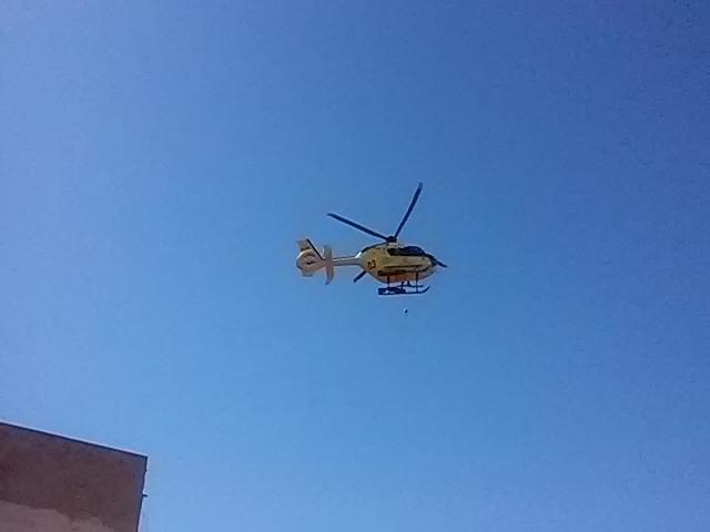 Rescaten a Montserrat un escalador en estat greu.