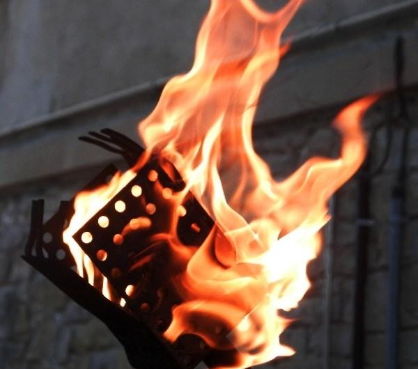La Flama del canigo 2016 arriba a Castellbell i el Vilar.