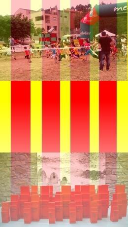 El temps acompanya a la 3era cursa infantil de «Les Guineus»