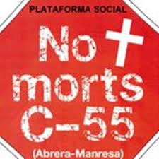 La plataforma no + Morts exigeix als grups parlamentaris catalans el desdoblament urgent de la C-55.