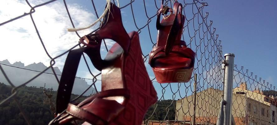 Els alumnes del SES Bages sud (Castellbell i el Vilar) commemoren el dia internacional contra la violència envers les dones.