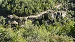 Sortida del Centre Excursionista Corriols de Castellbell i el Vilar: Pont de Vilomara i Rocafort (Circular Les Tines de la Vall del Flequer) Diumenge 6 de Novembre del 2016