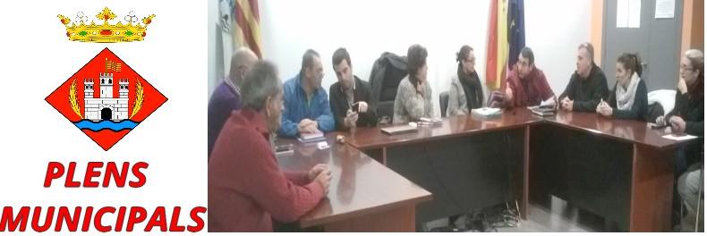 El primer ple municipal del 2017 a Castellbell i el Vilar, aprova l'adjudicació de l'empresa que construirà la remodelació de les piscines municipals